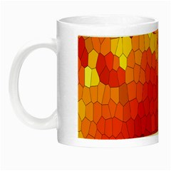 Mosaic Glass Colorful Color Night Luminous Mugs