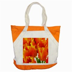 Mosaic Glass Colorful Color Accent Tote Bag