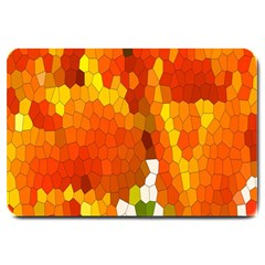 Mosaic Glass Colorful Color Large Doormat