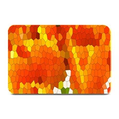 Mosaic Glass Colorful Color Plate Mats