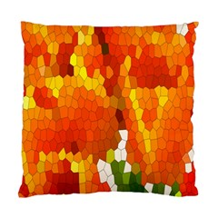 Mosaic Glass Colorful Color Standard Cushion Case (Two Sides)