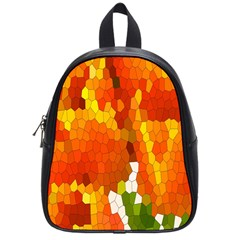 Mosaic Glass Colorful Color School Bags (Small)