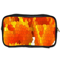 Mosaic Glass Colorful Color Toiletries Bags