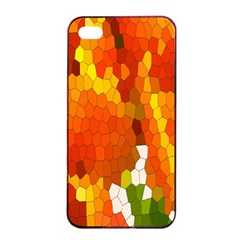 Mosaic Glass Colorful Color Apple Iphone 4/4s Seamless Case (black)