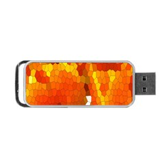 Mosaic Glass Colorful Color Portable USB Flash (Two Sides)