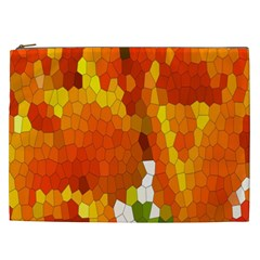 Mosaic Glass Colorful Color Cosmetic Bag (XXL)