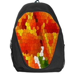 Mosaic Glass Colorful Color Backpack Bag