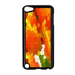 Mosaic Glass Colorful Color Apple iPod Touch 5 Case (Black)