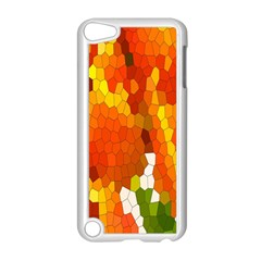 Mosaic Glass Colorful Color Apple iPod Touch 5 Case (White)