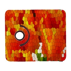 Mosaic Glass Colorful Color Galaxy S3 (Flip/Folio)