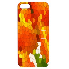 Mosaic Glass Colorful Color Apple Iphone 5 Hardshell Case With Stand