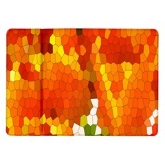 Mosaic Glass Colorful Color Samsung Galaxy Tab 10 1  P7500 Flip Case