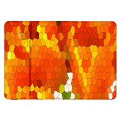 Mosaic Glass Colorful Color Samsung Galaxy Tab 8.9  P7300 Flip Case