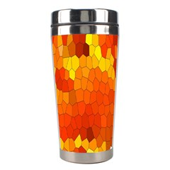 Mosaic Glass Colorful Color Stainless Steel Travel Tumblers