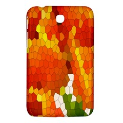 Mosaic Glass Colorful Color Samsung Galaxy Tab 3 (7 ) P3200 Hardshell Case