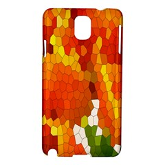 Mosaic Glass Colorful Color Samsung Galaxy Note 3 N9005 Hardshell Case