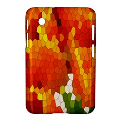 Mosaic Glass Colorful Color Samsung Galaxy Tab 2 (7 ) P3100 Hardshell Case