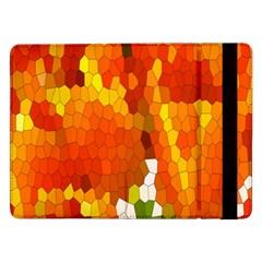 Mosaic Glass Colorful Color Samsung Galaxy Tab Pro 12.2  Flip Case