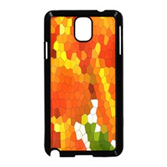 Mosaic Glass Colorful Color Samsung Galaxy Note 3 Neo Hardshell Case (Black)
