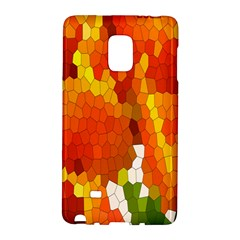 Mosaic Glass Colorful Color Galaxy Note Edge