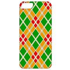 Colorful Color Pattern Diamonds Apple iPhone 5 Classic Hardshell Case