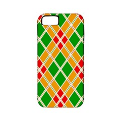 Colorful Color Pattern Diamonds Apple iPhone 5 Classic Hardshell Case (PC+Silicone)