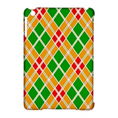Colorful Color Pattern Diamonds Apple iPad Mini Hardshell Case (Compatible with Smart Cover)