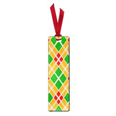 Colorful Color Pattern Diamonds Small Book Marks