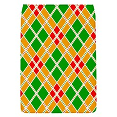 Colorful Color Pattern Diamonds Flap Covers (s)
