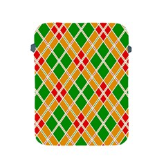 Colorful Color Pattern Diamonds Apple iPad 2/3/4 Protective Soft Cases