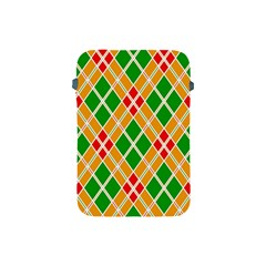 Colorful Color Pattern Diamonds Apple iPad Mini Protective Soft Cases