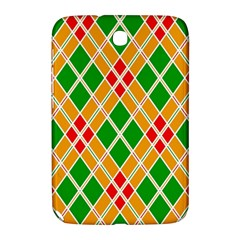 Colorful Color Pattern Diamonds Samsung Galaxy Note 8.0 N5100 Hardshell Case