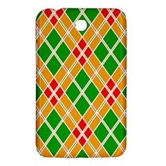 Colorful Color Pattern Diamonds Samsung Galaxy Tab 3 (7 ) P3200 Hardshell Case