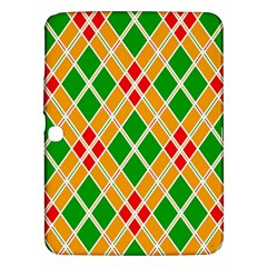 Colorful Color Pattern Diamonds Samsung Galaxy Tab 3 (10.1 ) P5200 Hardshell Case