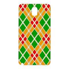 Colorful Color Pattern Diamonds Samsung Galaxy Note 3 N9005 Hardshell Back Case