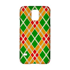 Colorful Color Pattern Diamonds Samsung Galaxy S5 Hardshell Case