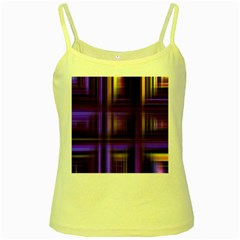 Background Texture Pattern Color Yellow Spaghetti Tank