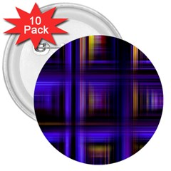 Background Texture Pattern Color 3  Buttons (10 Pack)