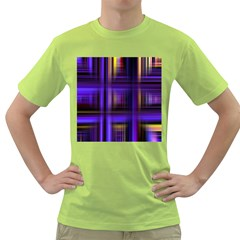 Background Texture Pattern Color Green T-Shirt