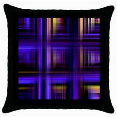 Background Texture Pattern Color Throw Pillow Case (Black)