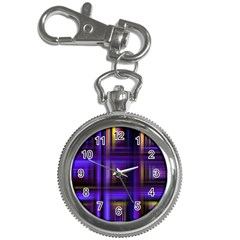 Background Texture Pattern Color Key Chain Watches