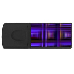 Background Texture Pattern Color USB Flash Drive Rectangular (1 GB)