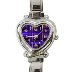 Background Texture Pattern Color Heart Italian Charm Watch