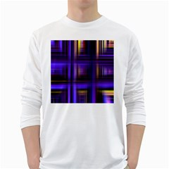 Background Texture Pattern Color White Long Sleeve T Shirts