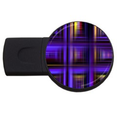Background Texture Pattern Color USB Flash Drive Round (4 GB)