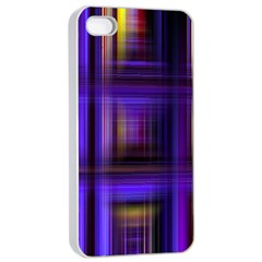 Background Texture Pattern Color Apple iPhone 4/4s Seamless Case (White)