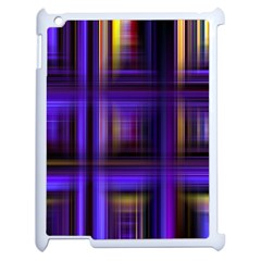 Background Texture Pattern Color Apple iPad 2 Case (White)