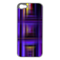 Background Texture Pattern Color Apple iPhone 5 Case (Silver)