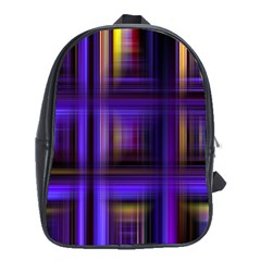 Background Texture Pattern Color School Bags (XL)