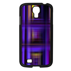 Background Texture Pattern Color Samsung Galaxy S4 I9500/ I9505 Case (Black)